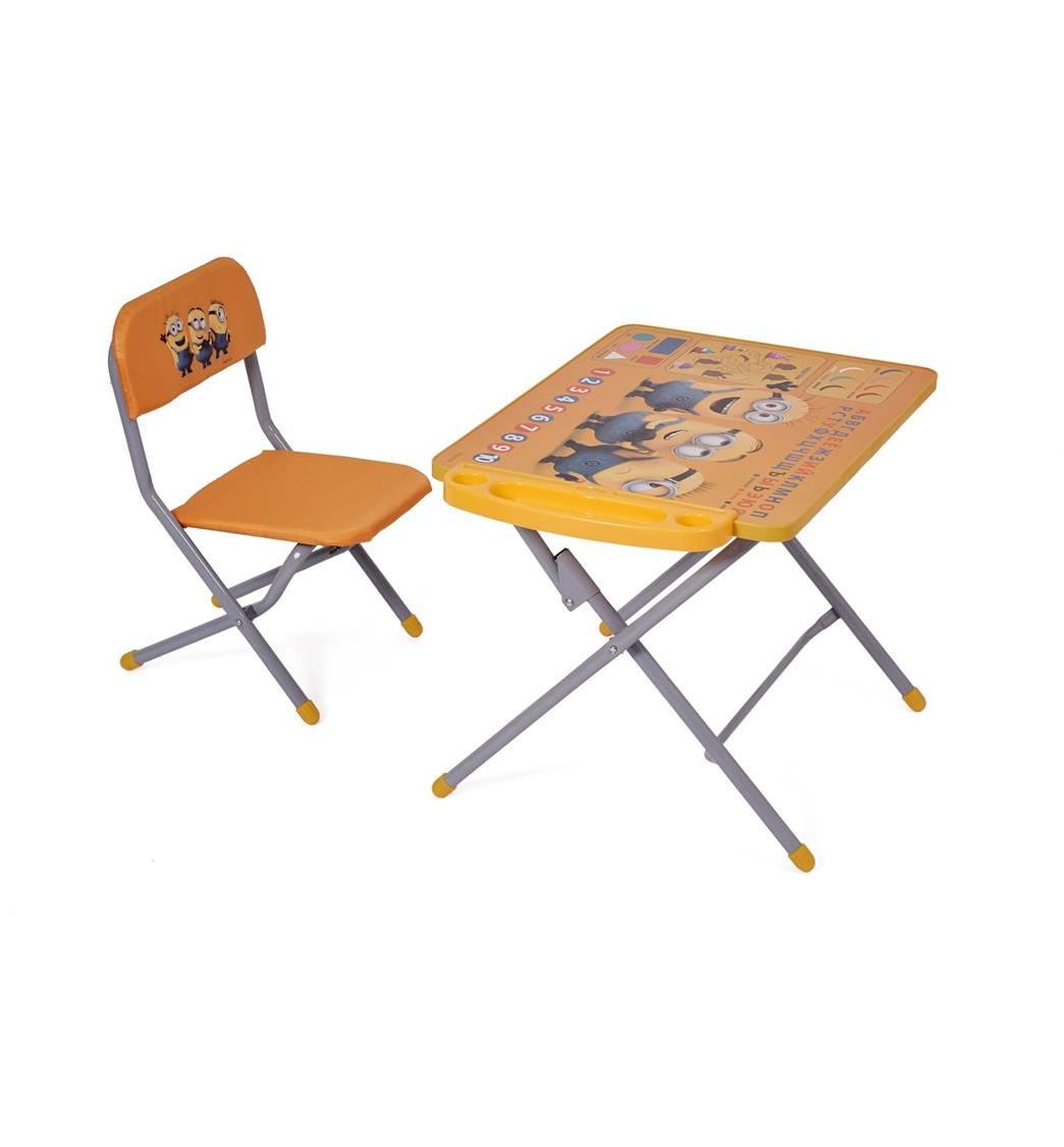 комплект детской мебели Polini Kids 103 гадкий я желтый
